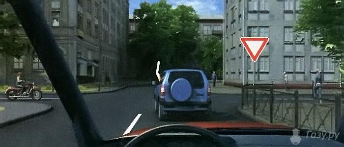 разрешен ли разворот на перекрестке со знаком движение только прямо
