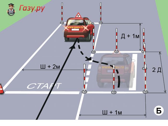 Вождение площадка механика