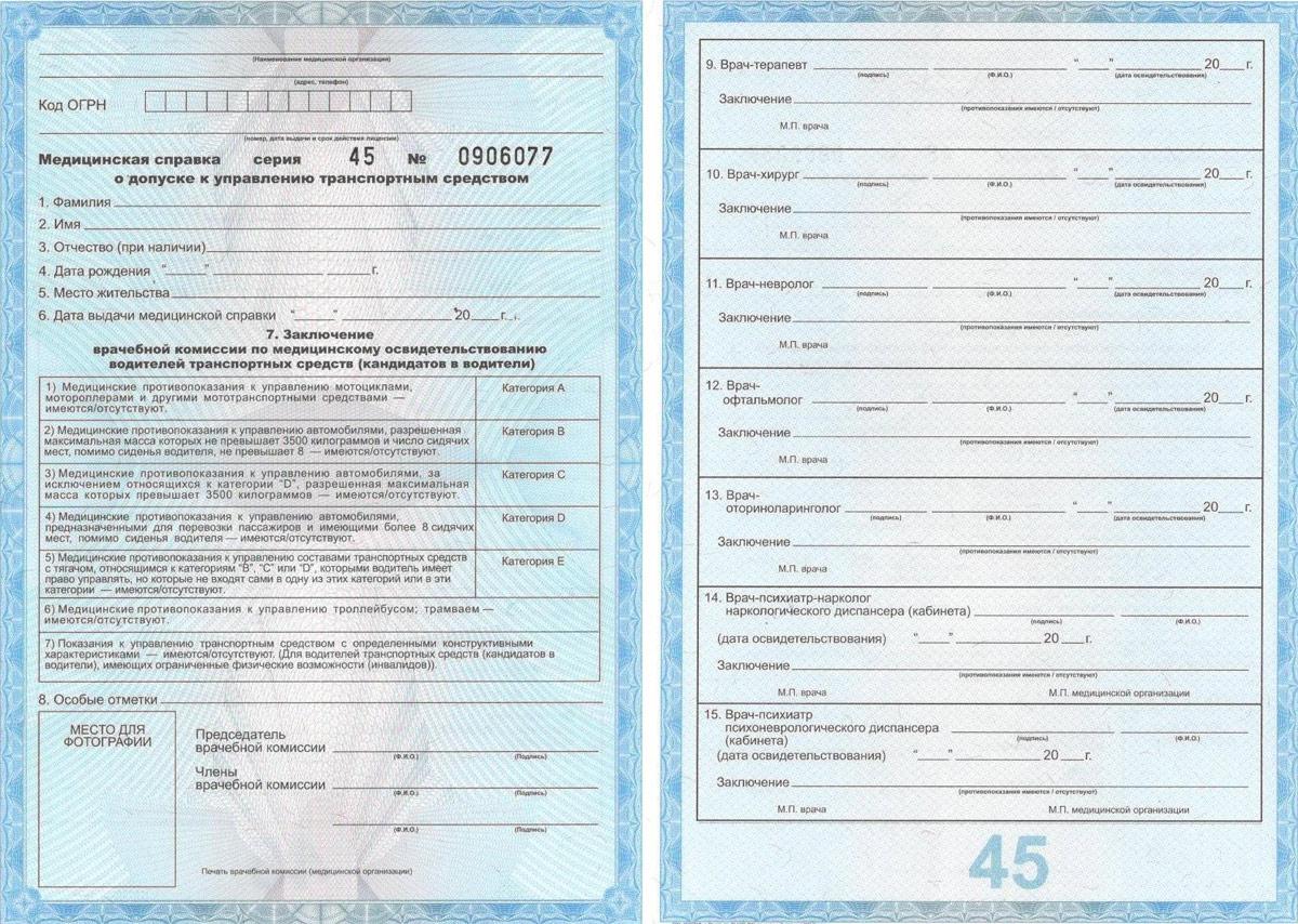Нужна ли медицинская справка водителю который ещё учится на права трансназальная гастроскопия в москве цены