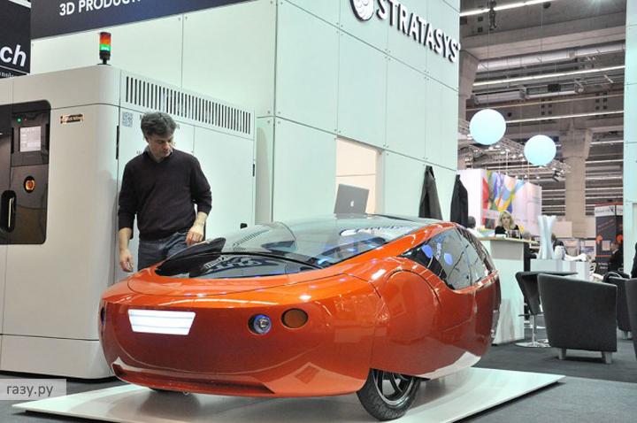 Автомобиль создан по схеме