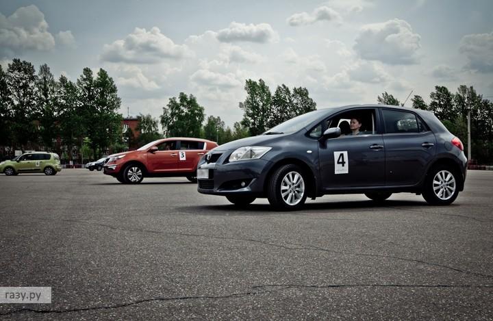 Групповые курсы контраварийного вождения