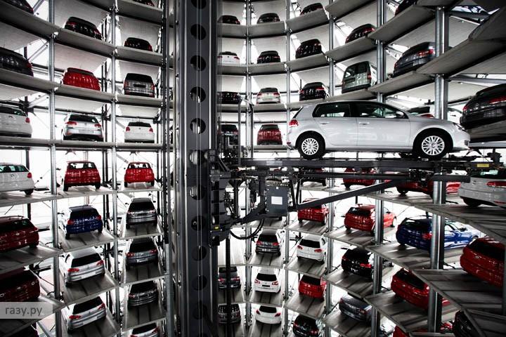 Удивительная парковка