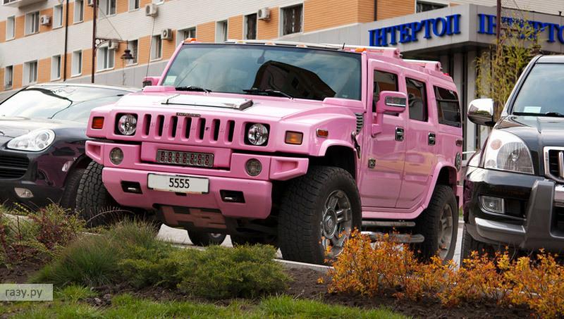 розовый Hummer