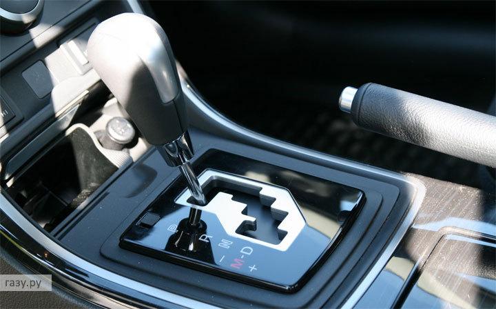 рычаг переключения автоматической коробки передач